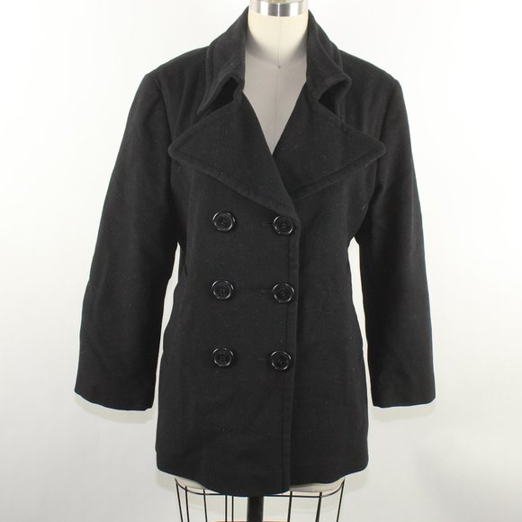 Burberry London Short Coat Sz XL